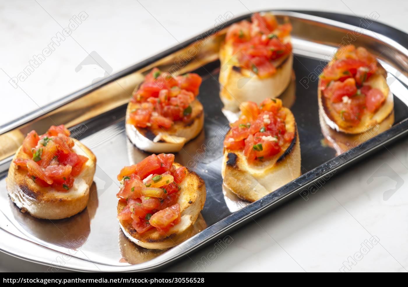 still, life, of, tomato, bruschetes - 30556528