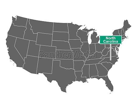 north carolina state limit schild und