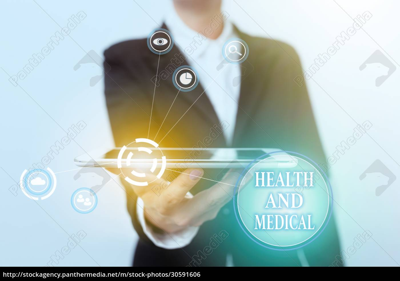 text, sign, showing, health, and, medical. - 30591606