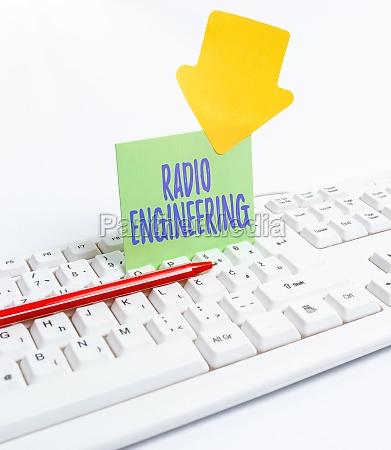 text, caption, presenting, radio, engineering., conceptual - 30614643