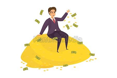 money, , success, , profit, people, , wealth, , business - 30667242