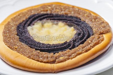 stillleben typisch tschechischer torte
