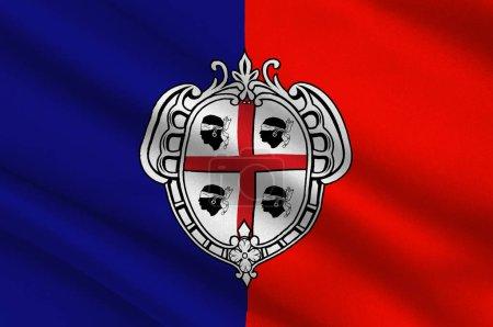 rot, blau, Hintergrund, Europäisch, Flagge, Banner - B133112126