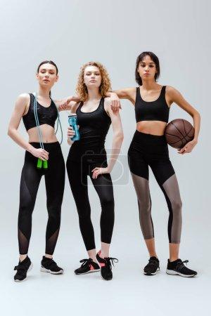 Sport, weiß, Ball, schön, Ausrüstung, Frauen - B359053852