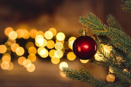 Weihnachten, Festlich, Gruß, Glücklich, Urlaub, Funkel - B132497824
