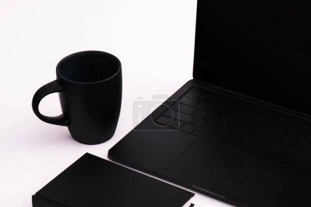 weiss computer hintergrund niemand einfachheit tasse