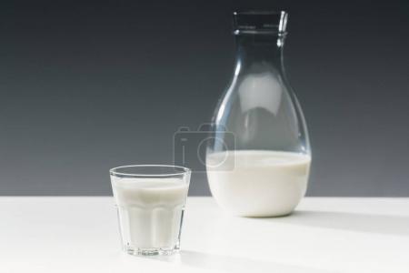 weiß, Hintergrund, niemand, Glas, Frisch, Tropfen - B192130070