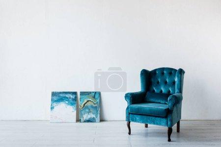 weiss blau hintergrund niemand luxus kunst