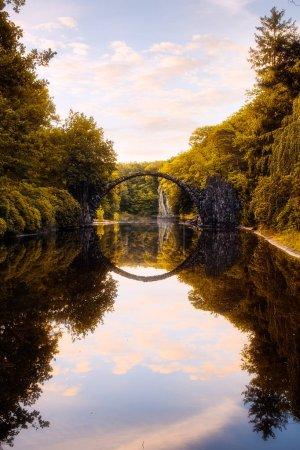 Sonnenlicht, Park, Sonnenaufgang, Brücke, Landschaft, Morgendämmerung - B138140702