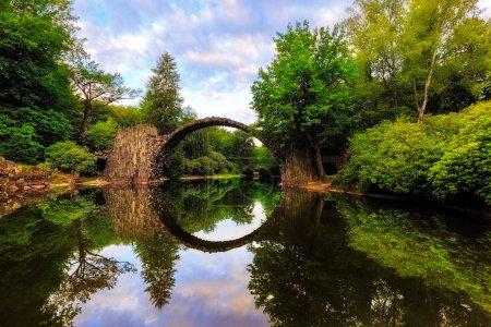 Sonnenlicht, Park, Sonnenaufgang, Brücke, Landschaft, Morgendämmerung - B138140694