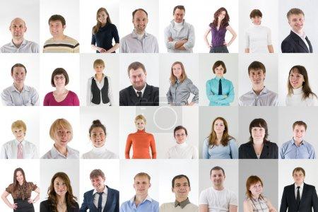 Konzern, weiß, Glücklich, Unternehmen, Person, Mädchen - B8796344