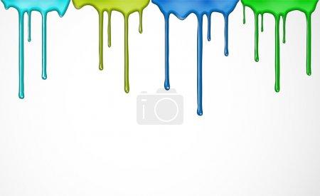 grün, Farbe, Blau, Vektor, Bunt, Grafik - B10186966