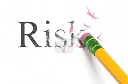 Gelb, weiß, Isoliert, Risiko, Nach oben, schließen - B9464056