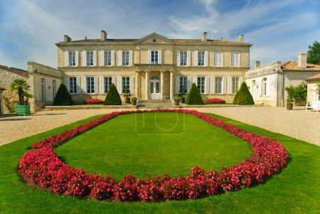 Gras, Erbe, malerisch, Herrenhaus, Frankreich, Palast - B8312160