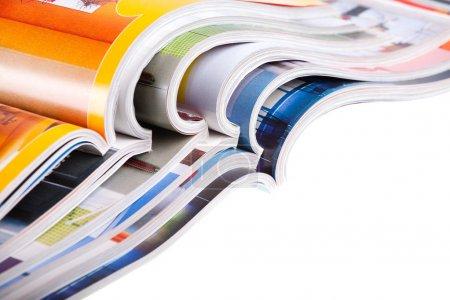 Konzern, weiß, Hintergrund, Papier, Isoliert, Haufen - B1509045