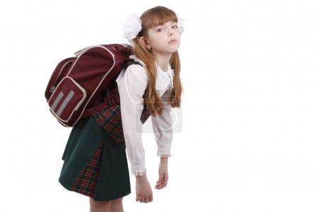 weiß, Hintergrund, auf, Tasche, isoliert, schön - B1166923