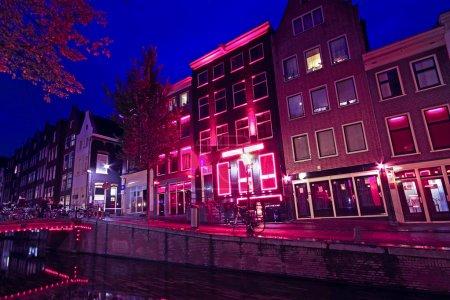 Licht, rot, Reflexion, Wasser, lila, Architektur - B18022939
