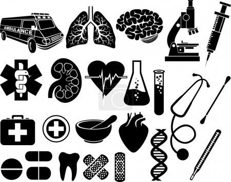 Medizin, medizinisch, Pflege, Apotheke, Macht, Symbol - B26763143
