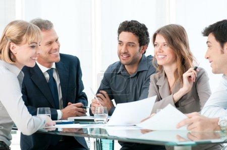 Konzern, weiß, Glücklich, Unternehmen, Person, Weiblich - B12766782