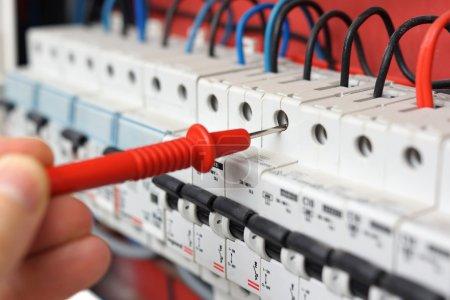 Feld, Ausrüstung, Energie, Mann, Kabel, elektrisch - B40400523