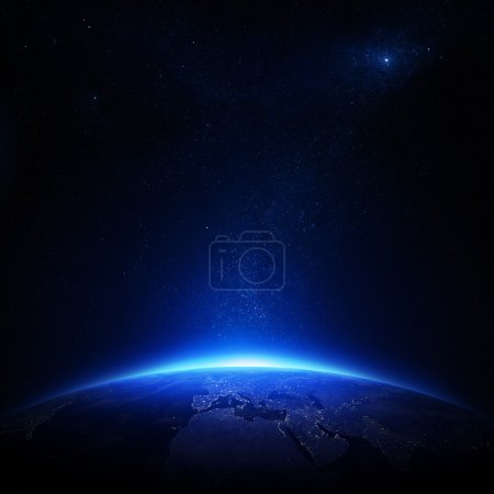 Blau, Hintergrund, Rendern, niemand, Grafik, Illustration - B20867981