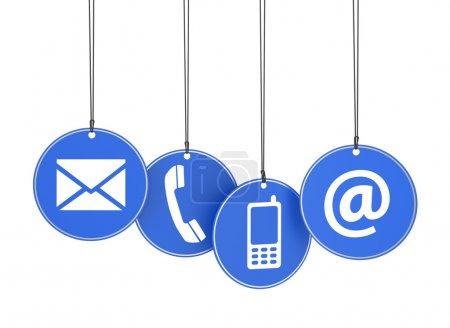weiß, Blau, Hintergrund, Design, Isoliert, Unternehmen - B33303183