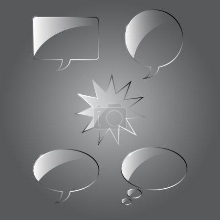 Element, Design, Glas, Isoliert, Reflexion, Zeichen - B21513553