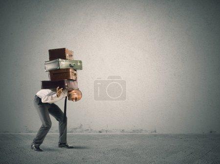 weiß, Tasche, Rudel, isoliert, Feld, Paket - B45061423