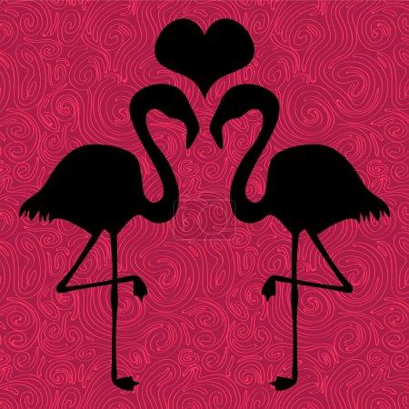 hintergrund illustration schoen gruss valentin liebe