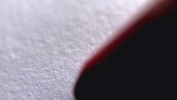 rot weiss anschaulich nahaufnahme makro malen