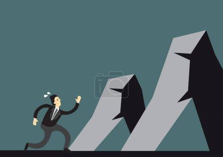 sport wettbewerb vektor illustration unternehmen risiko