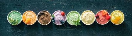 Hintergrund, farbenfroh, Sommer, frisch, Lebensmittel, Zutat - B378530338