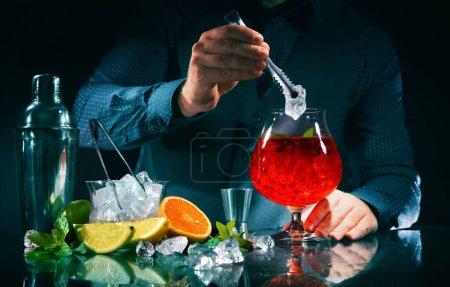 grün, Bar, Kneipe, rot, Nachtleben, Glas - B387741032
