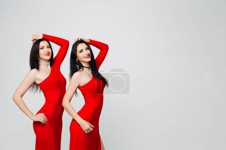 Spaß, weiß, schön, glücklich, Studio, weiblich - B214463958