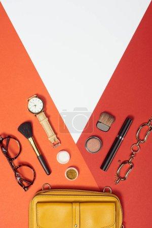 rot, gelb, weiß, Objekte, Hintergrund, niemand - B241903636