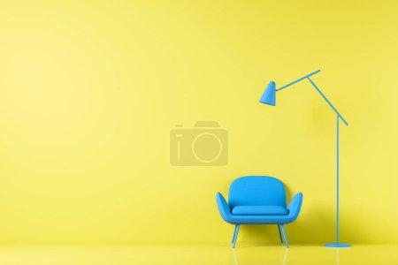 tisch farbe gelb weiss hintergrund bunt
