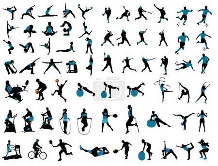 Spiel, Sport, Aktivität, Spaß, Vektor, Element - B11174388
