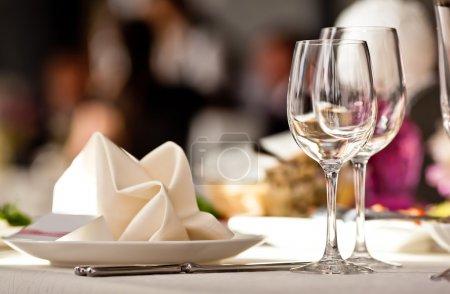 Tabelle, Bar, weiß, niemand, auf, anzeigen - B11140710