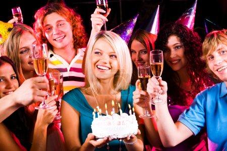 unterhaltung geburtstag feier veranstaltung festlich gluecklich