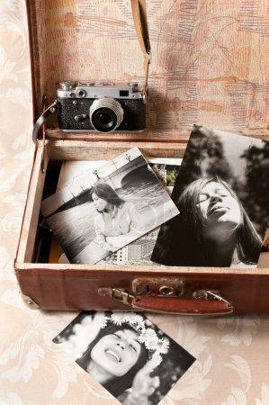weiss fotografie ausruestung metall silber maedchen