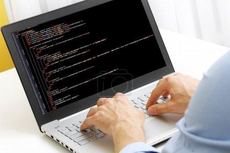 Tisch, Computer, Schlüssel, Schutz, Mann, Technologie - B78113092