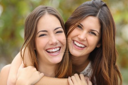 grün, weiß, Hintergrund, glücklich, Liebe, Mädchen - B63573353