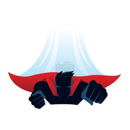 vektor hintergrund illustration design fliegen maennlich