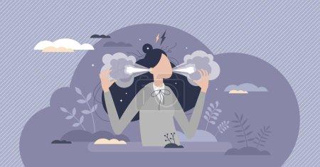 vektor illustration person weiblich erwachsene szene