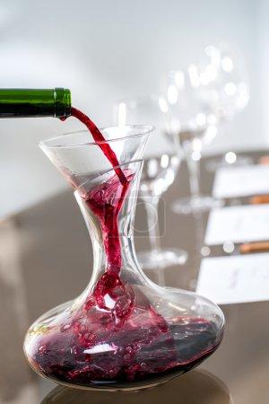 Tisch, Bar, rot, Makro, Kristall, Glas - B59343455