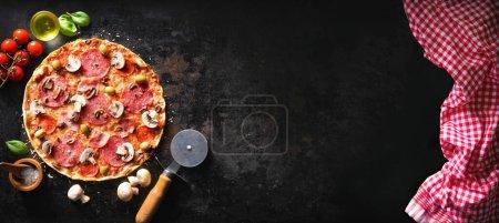 Hintergrund, Stein, Frisch, Lebensmittel, Küche, Hölzerne - B471384750