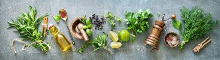 grün, Hintergrund, Stein, Frisch, Garten, Kräuter - B476477206