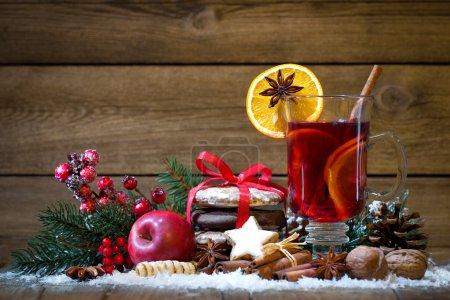 Tisch, Licht, rot, Hintergrund, Glas, Feier - B106065682