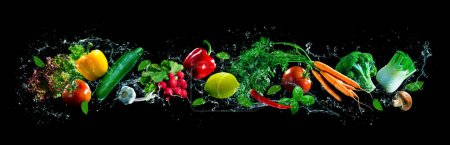 grün, Hintergrund, Objekt, horizontale, isoliert, Dekoration - B426577664