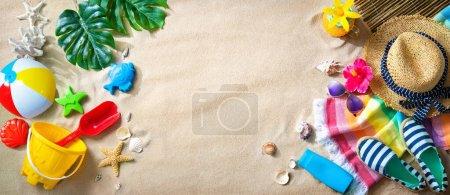Freizeit, Hintergrund, Ball, Urlaub, Reise, Sommer - B481383356